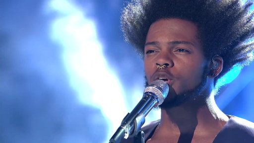 "American Idol season 14 episode 26 Arena Anthems: Quentin Alexander sings Florence + Machine's ""Shake It Out"" for Harry Connick, Jr., Jennifer Lopez, Keith Urban and the crowd on Wednesday, April 22."