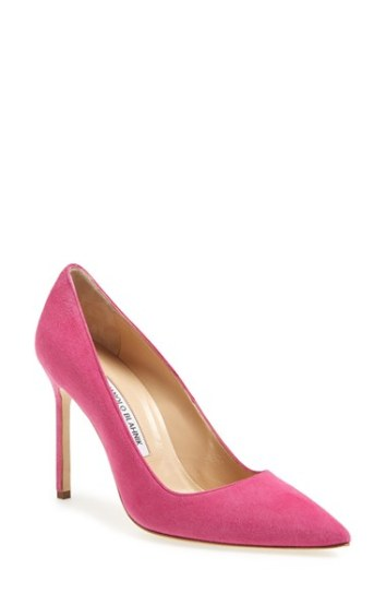 f828de91ce8 Fashion  Bright Pointy Toe Pumps Are On Trend For Spring .