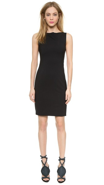 Theory Edition II Shift Dress in Black