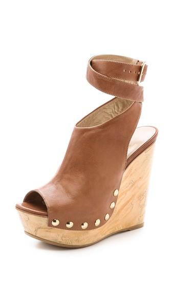 Stuart Weitzman Wrapup Platform Sandals in Adobe. Shopbop extra 25% off sale