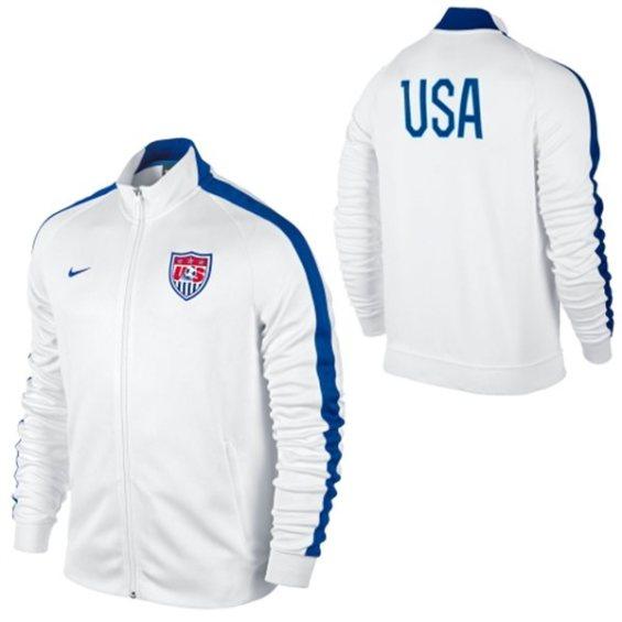 Nike US Soccer N98 Full Zip Track Jacket - White