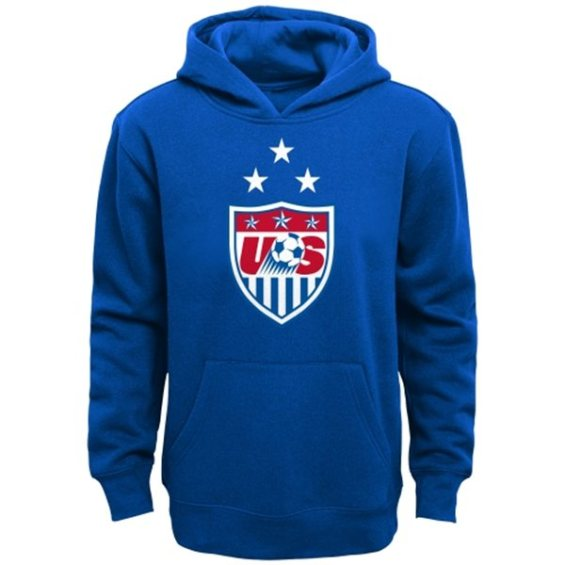 USA Youth Royal 3-Star Pullover Hoodie