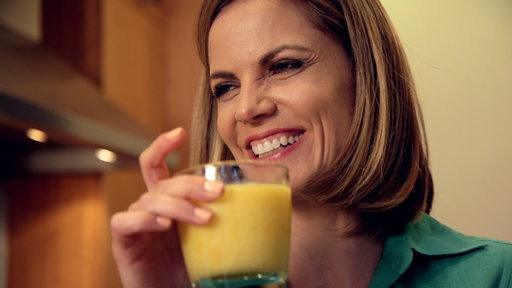 Natalie Morales shares the secret to making Brazilian lime and mango caipirinhas during her At Home With Natalie Morales segment on the Wednesday, August 5th episode of the Today show.