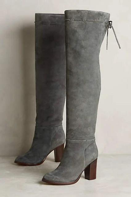 Splendid Darcie Knee Boots by Splendid in Dark Grey