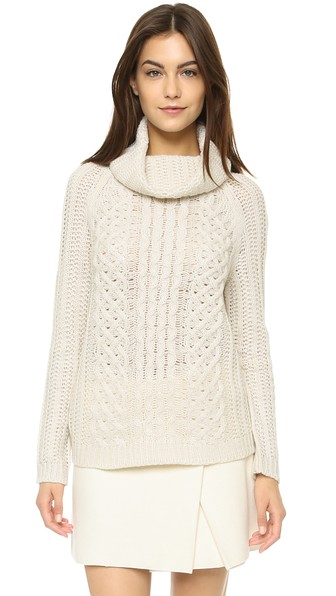 cupcakes and cashmere Sleepy Hollow Turtleneck Sweater in Ivory. Shopbop