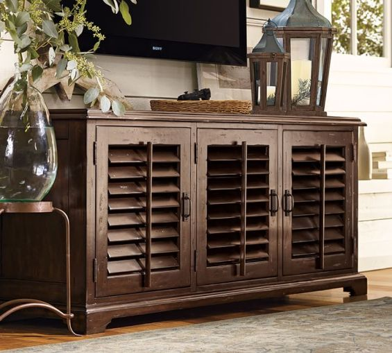 Pottery Barn Media Console Sale: 20% Off Entertainment