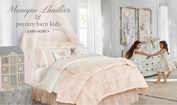 Monique Lhuillier and Pottery Barn Kids gorgeous home decor collection!