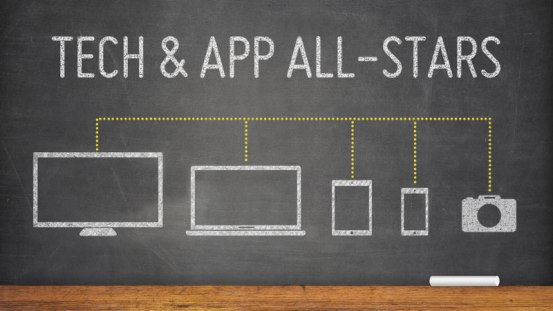 Tech expert Mario Armstrong joined Candace Rose for an interview to dish on his tech and app all-stars for spring 2016! Image courtesy of Thunk News
