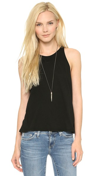 Enza Costa Cropped Sheath Tank Shopbop friends and family sale