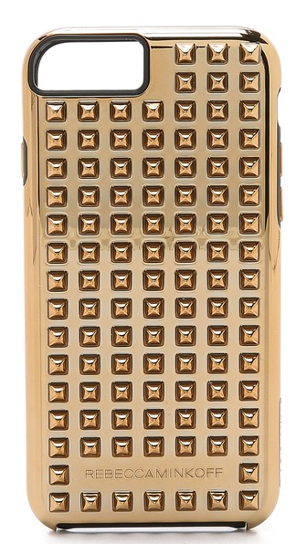 Rebecca Minkoff Studded iPhone 6 / 6s Case Gold Shopbop friends and family sale