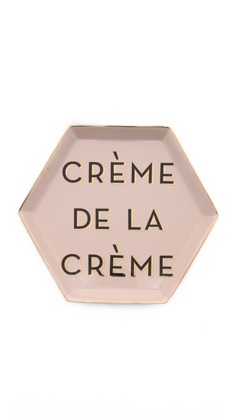 Rosanna, Inc. Creme de la Creme Tray Pink Gold Shopbop friends and family sale spring