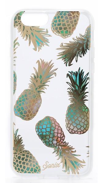 Sonix Liana iPhone 6 / 6s Case Liana Teal Pineapple Print Shopbop