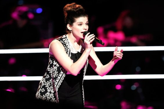 """Watch The Voice Season 10 Episode 12 The Knockouts Night Three: See Brittany Kennell of Team Blake perform Shania Twain's hit song """"You're Still the One"""" on Monday, April 4th."""