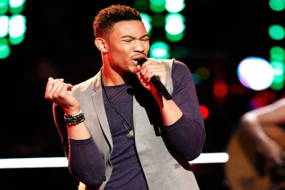 """The Voice Season 10 Episode 12 The Knockouts Night Three: See Joe Maye of Team Christina perform The Weeknd's hit song """"Earned It (Fifty Shades of Grey)"""" on Monday, April 4, 2016."""