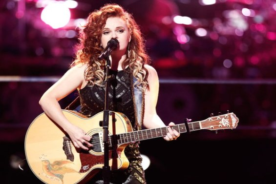 """The Voice Season 10 Episode 12 The Knockouts Night Three: See Kata Hay of Team Christina Aguilera perform country superstar Reba McEntire's hit song """"Why Haven't I Heard from You"""" on April 4th."""