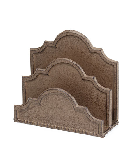 GG Collection Ogee-G Letter Holder Horchow friends and family sale