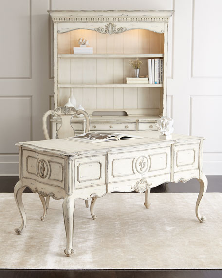 Hooker Furniture Nelson Writing Desk Antique White Horchow friends and family sale