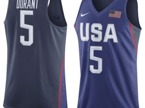 Nike Kevin Durant USA Basketball Youth Royal Rio Elite Replica Jersey team usa basketball candace rose