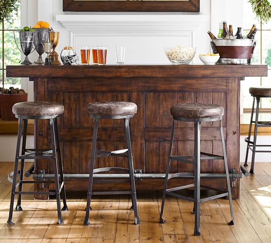 Pottery Barn RUSTIC ULTIMATE BAR - LARGE pottery barn dining furniture sale