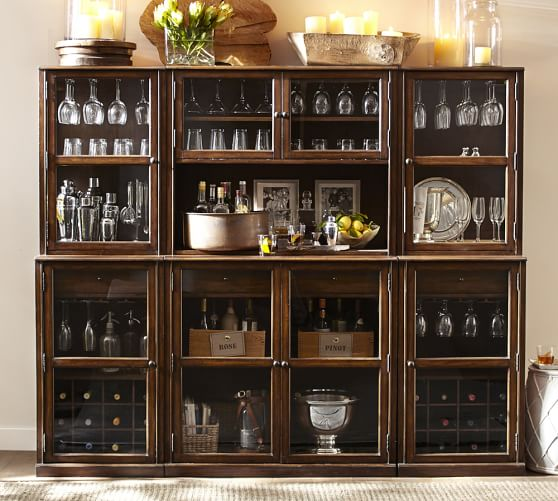 Pottery Barn SAXTON ENTERTAINING BAR SUITE pottery barn dining furniture sale 20% off