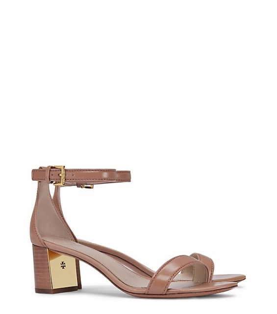 candace rose Tory Burch CECILE SANDAL Peanut Butter tory burch private sale candie anderson