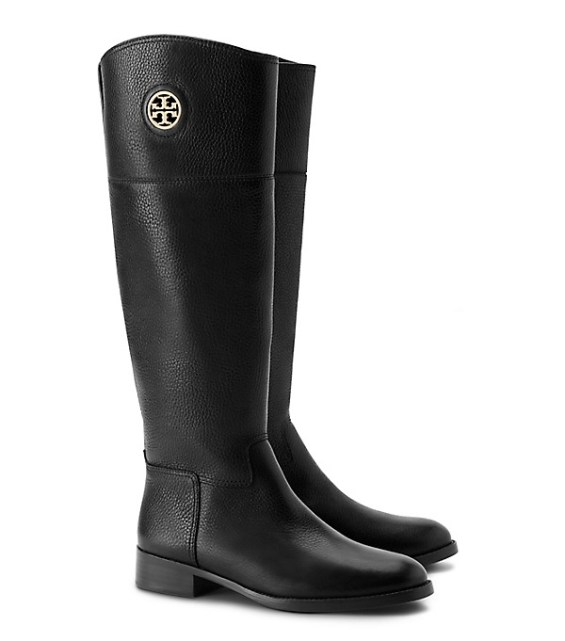 candace rose Tory Burch JUNCTION RIDING BOOT Black tory burch private sale candie anderson