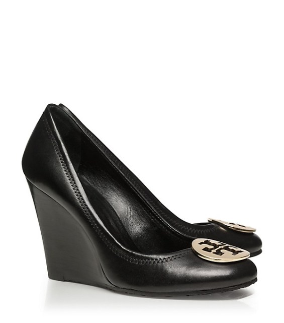 tory burch private sale Tory Burch SOPHIE WEDGE candace rose fashion blog