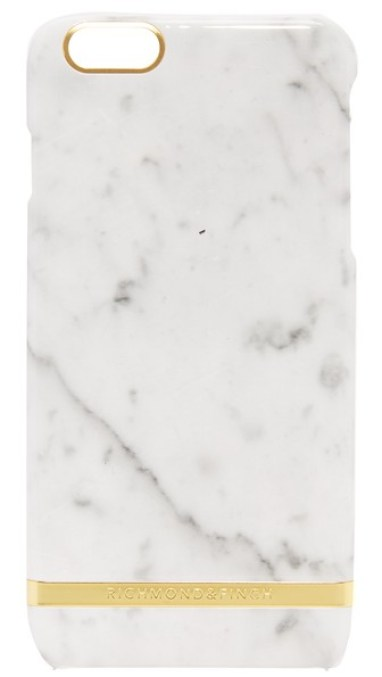 Richmond & Finch Carrera Marble iPhone 6 Plus / 6s Plus Case White iPhone 6s plus cases