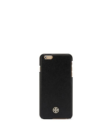 Tory Burch ROBINSON HARDSHELL CASE FOR IPHONE 6 PLUS Black