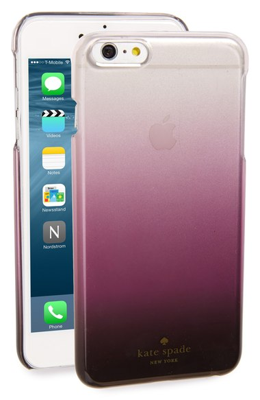 kate spade new york ombré iPhone case (6 & 6 Plus) Purple Ombre Clear iPhone 6s plus cases fall 2016