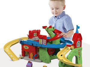 Fisher-Price Little People Sit 'n Stand Skyway Stephanie oppenheim toy portfolio today show