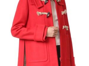 No. 21 Toggle Coat Red toggle coats