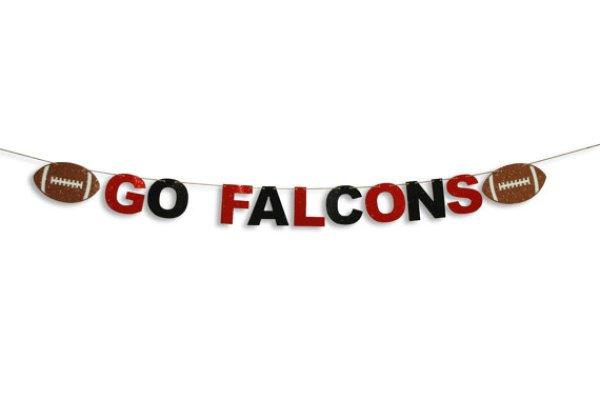 Atlanta Falcons Football Banner By JenCowanCrafts atlanta falcons super bowl li party