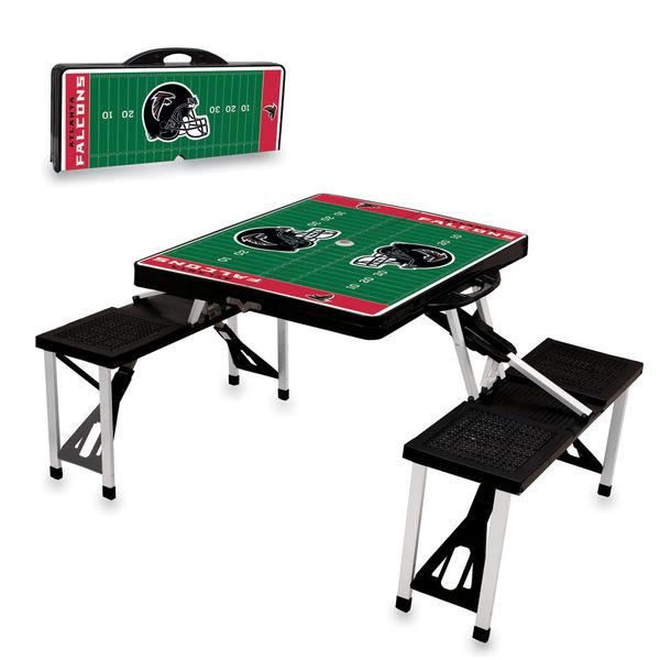 Atlanta Falcons Picnic Table - Black atlanta falcons super bowl li party