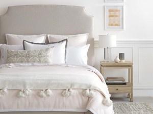 Serena & Lily Fillmore Bed Belgian Linen Sand sale