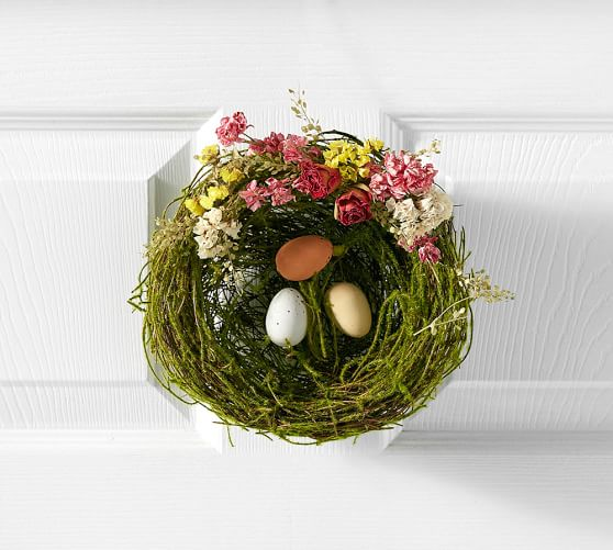 Pottery Barn LIVE SPRING MOSS NEST pottery barn friends and family sale