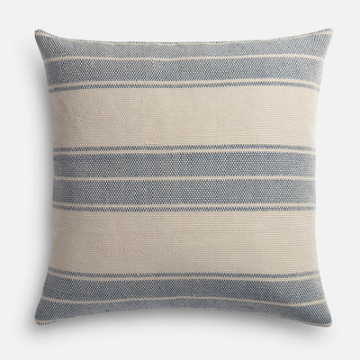 Magnolia Home Carter Navy & Ivory Pillow magnolia home by joanna gaines for pier 1