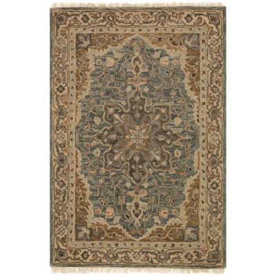 Magnolia Home Hanover Blue Rug magnolia home by joanna gaines for pier 1