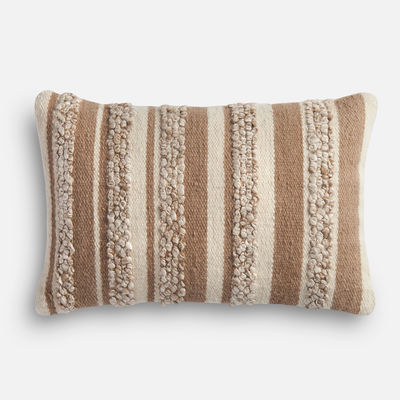 Magnolia Home Zander Beige & Ivory Lumbar Pillow magnolia home by joanna gaines for Pier 1