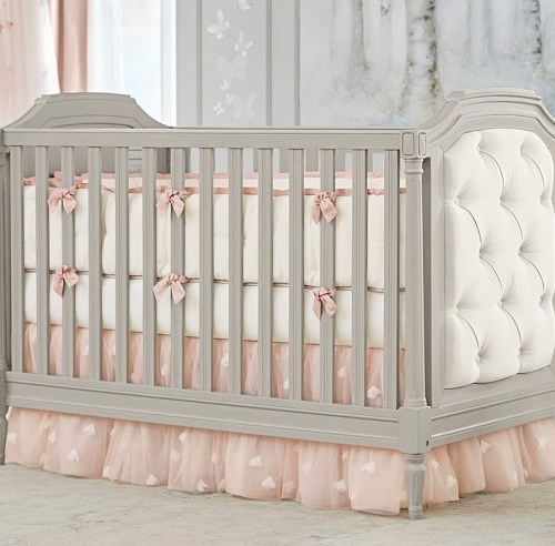 Pottery Barn Kids Blythe Convertible Crib Vintage Simply White pottery barn kids spring refresh sale