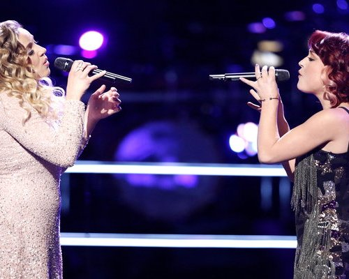 """Watch The Voice Season 12 Episode 9 Battles Premiere Videos Night 1. Monday, March 20, 2017. See 23 year old Ashley Levin of Miami, Florida vs. 26 year old Casi Joy of Nashville, Tennessee (Team Blake Shelton and advisor Luke Bryan) battle it out to the tune of Reba McEntire's hit song """"How Blue."""" If you're a fan of 80/90s country, you'll remember this song and love their cover!"""