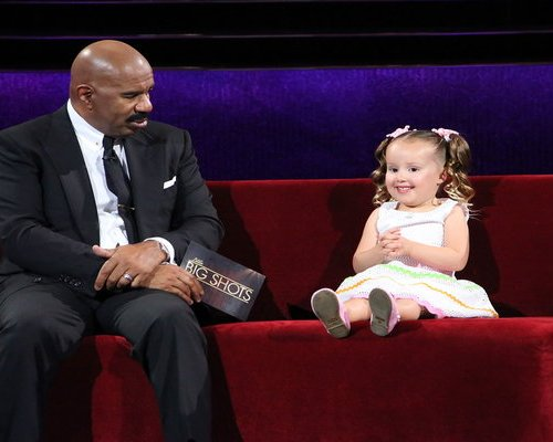 "Watch Little Big Shots Season 2 Episode 1 ""We're Back"" videos as seen on Sunday, March 5, 2017. See four year old whiz kid Brielle Milla of Salinas, California (and Ellen show fame) talk to Steve Harvey about the bones in his hand, and watch her as she names bones on the skeleton on stage."