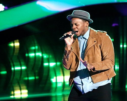 "Watch The Voice Season 12 Episode 7 Blind Auditions Night 7 Videos: Tuesday, March 14, 2017. Meet talented musician and worship leader Chris Blue, age 26 of Knoxville, Tennessee! He's the youngest of seven kids, and they all sing including mom Janice! He and his brother were in a well known band called the Blue Brothers. He sang Smokey Robinson & The Miracles classic hit song ""The Tracks of My Tears"" BEAUTIFULLY!"