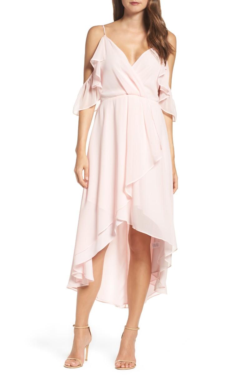 Cold Shoulder Dresses On Trend For Summer Wedding Guest Season