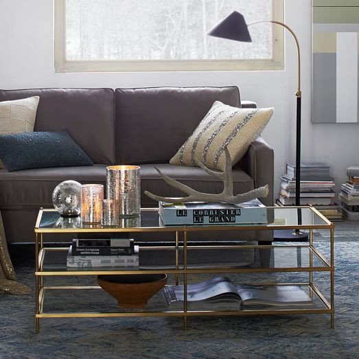 on west elm coffee tables and side