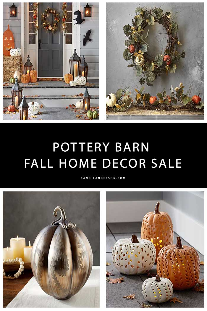 Trendy Pottery Barn Fall Home Decor Essentials at 20  Off   Candie     Pottery Barn is giving you a chance to save 20  on one regularly priced item