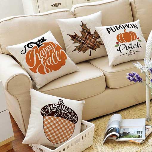 the best fall farmhouse throw pillows