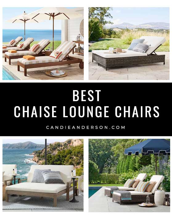 20 classic outdoor chaise lounge chairs