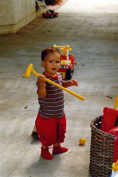 Jeremy Poincenot Golf Toddler