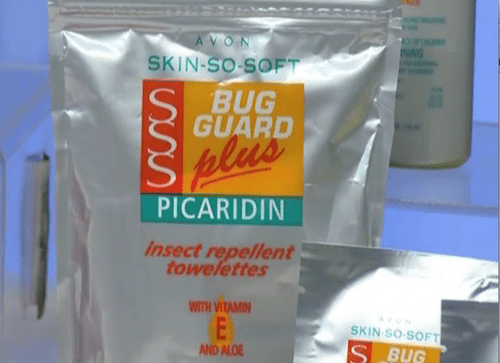 Avon Skin So Soft Bug Guard with Picaridin Insect Repellent Towelettes